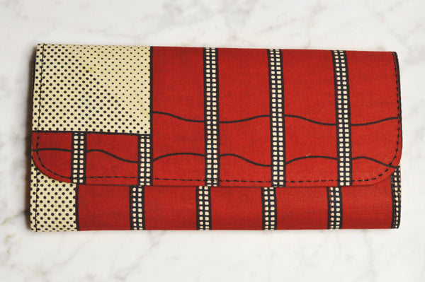White Ebele Mini Clutch - Clutch