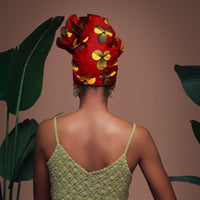 Bisa Silk Lined Headwrap - Headwraps