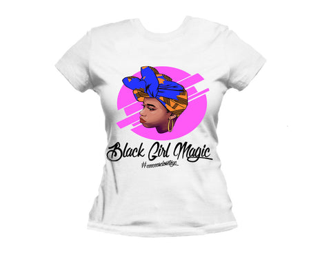 Black Girl Magic Tee - Headwraps