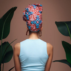 Blue Babetta Headwrap - Head Wraps