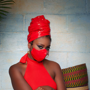Red Haute Mask