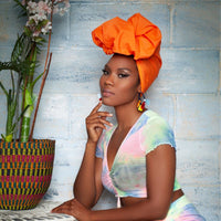 Tangerine Lite Headwrap - Head Wraps