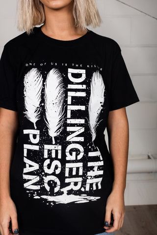 The Dillinger Escape Plan Feathers Unisex T-Shirt