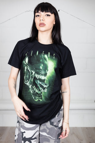 Aliens Alien Head Unisex T-Shirt