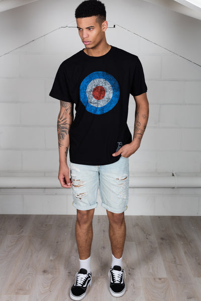 The Who Distressed Logo Unisex T-Shirt