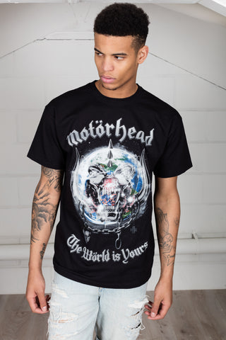 Motorhead The World Is Yours Album Unisex T-Shirt