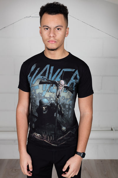 Slayer Soldier Cross Unisex T-Shirt