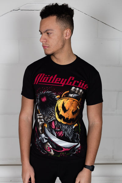 Motley Crue Halloween Pumpkin Slash Unisex T-Shirt