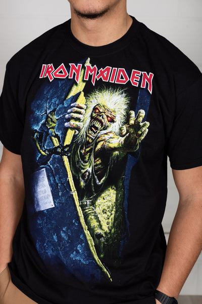 Iron Maiden No Prayer Eddie Unisex T-Shirt