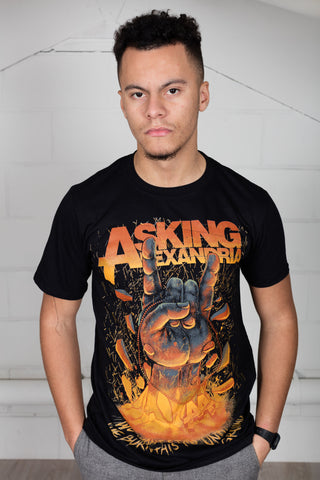 Asking Alexandria Metal Hands Unisex T-Shirt