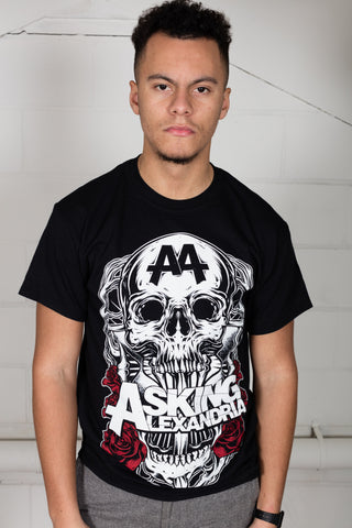 Asking Alexandria Black Shadow Unisex T-Shirt