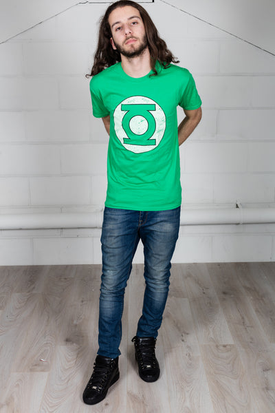 Green Lantern Distressed Logo Unisex T-Shirt