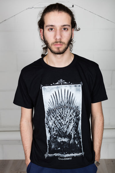 Game Of Thrones Win Or Die Sword Throne Unisex T-Shirt