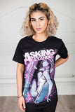 Asking Alexandria Coffin Girl Unisex T-Shirt