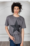 David Bowie Blackstar (Blackstar On Grey) Unisex T-Shirt