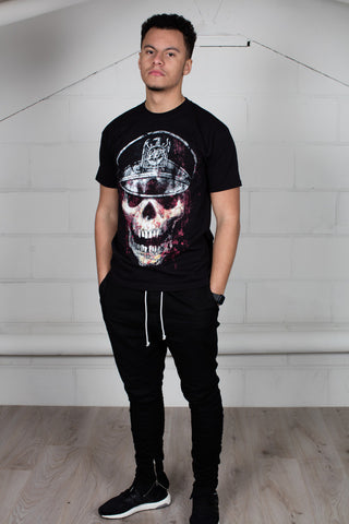 Slayer Skull Hat Unisex T-Shirt