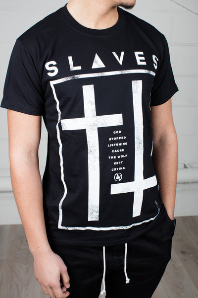 Slaves God Stopped Listening Unisex T-Shirt