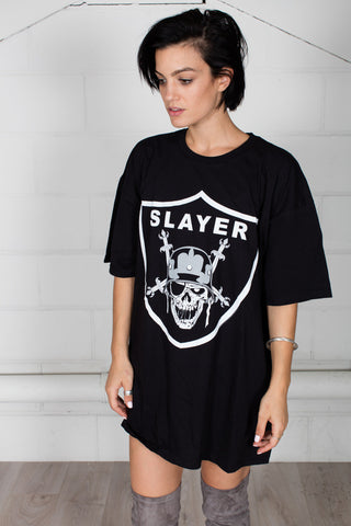 Slayer Slayders Unisex T-shirt Dress