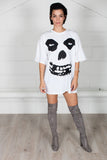 Misfits All Over Skull Unisex T-shirt Dress