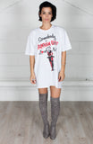 Harley Quinn Somebody Loves Me T-shirt Dress