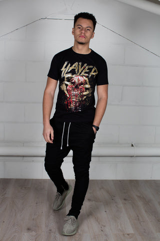 Slayer Skull Clench Unisex T-Shirt
