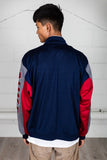 Vintage Nike Red & Navy Zip Up Track Top
