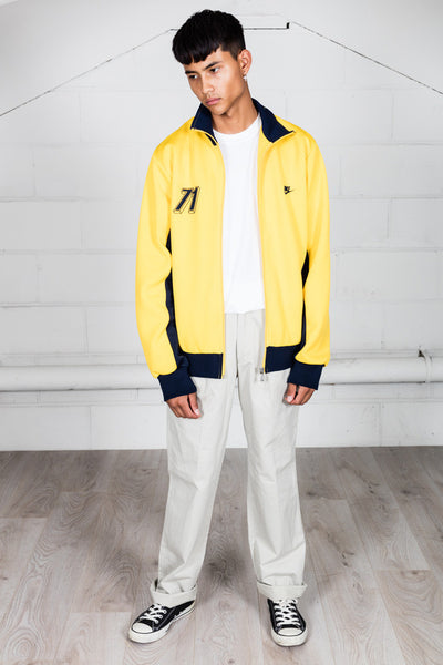 Vintage Nike Atheltic Since 71Yellow Track Top