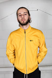 Vintage Nike Yellow Track Top