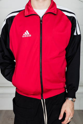 Vintage Adidas Black Red Track Top