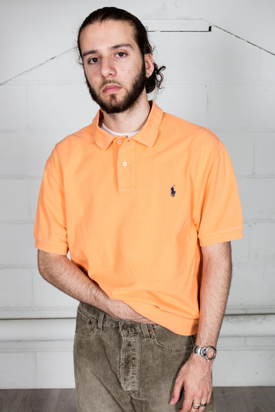 Vintage Ralph Lauren Orange Polo Shirt