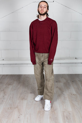 Vintage Champion Burgundy Sweatshirt