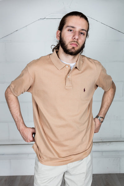 Vintage Ralph Lauren Brown Polo Shirt