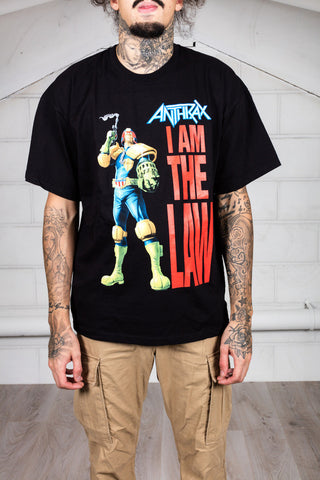 Anthrax I Am The Law Robot Unisex T-Shirt
