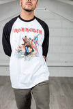 Iron Maiden Trooper Unisex Two Tone T-Shirt
