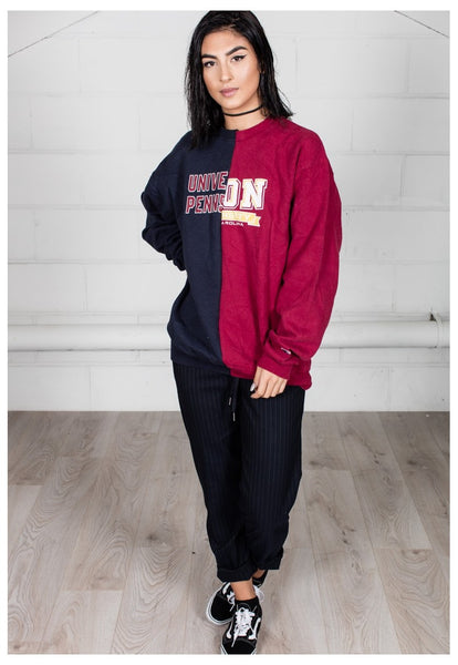 Vintage University Sports Reconstructed Unisex Sweatshirt
