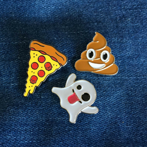 Emoji Pin Set