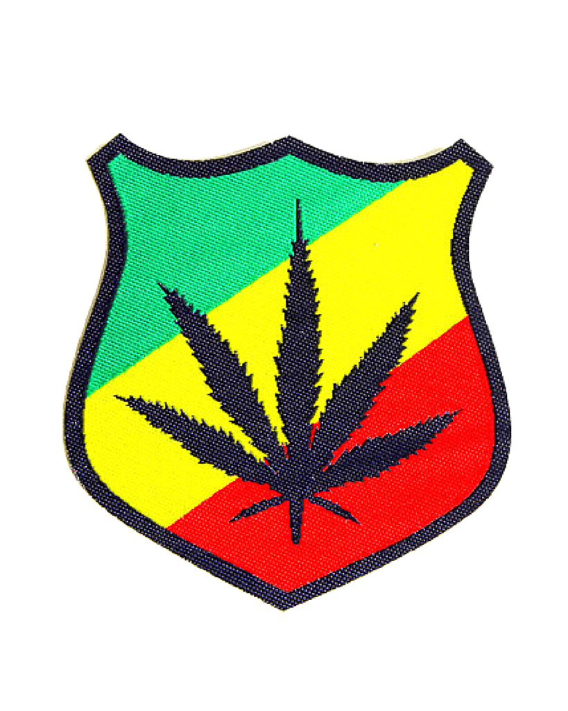 Weed Iron-On Patch