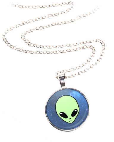 Alien Space Necklace