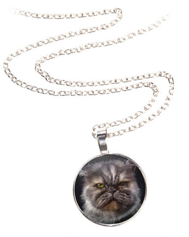 Grumpy Cat Necklace