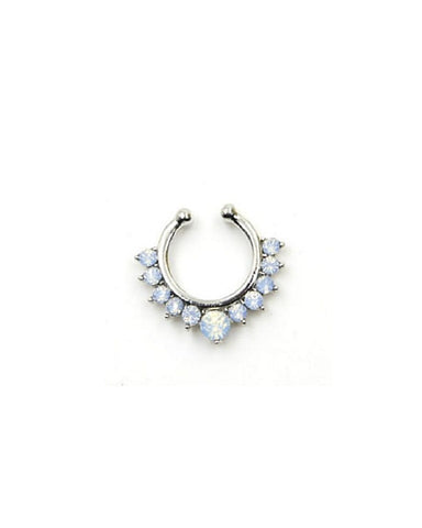 Crystal Septum Ring