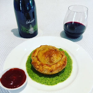Our take on the iconic South Aussie Pie Floater with Ghost Wines 2014 Clare Valley Shiraz