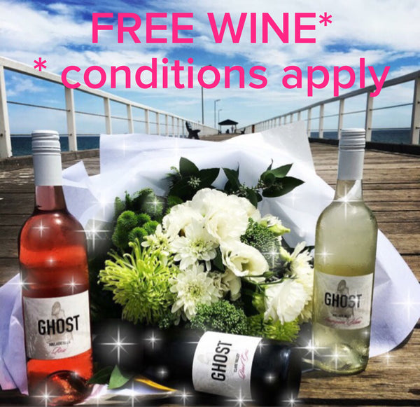 Refer a friend and receive 3 FREE bottles of Ghost Wines!