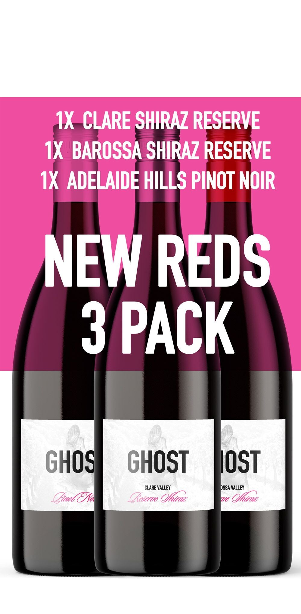Ghost Reds 3 pack