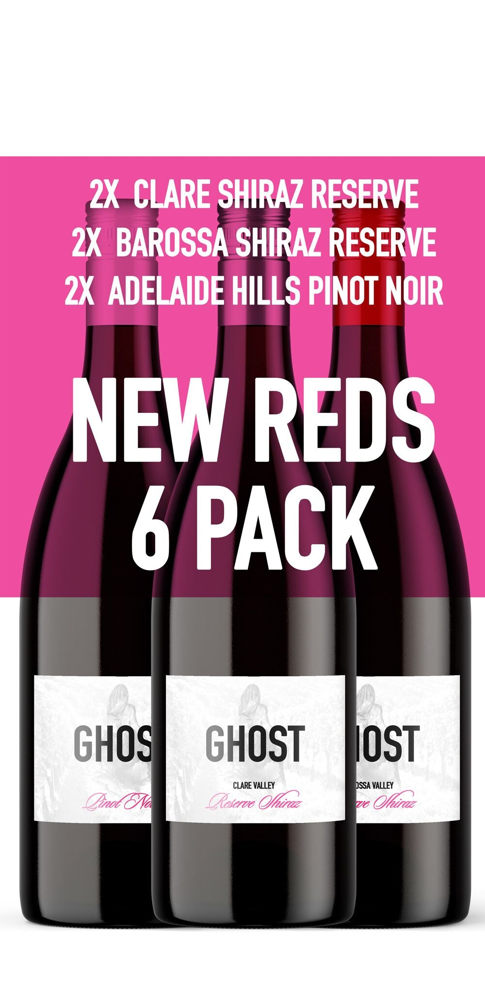 Ghost Reds 6 pack - Ghost Wines