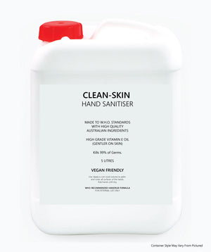 Sanitising Hand Rub - 5 LITRE Container - Kills 99% of Germs - AUSTRALIAN MADE - Ghost Wines