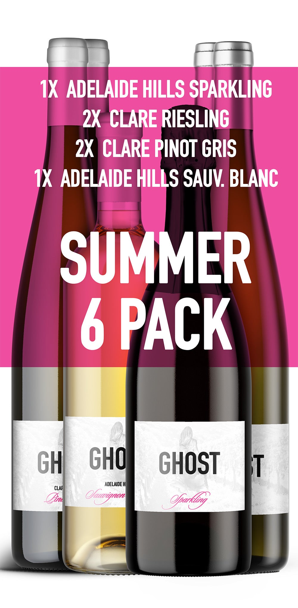 Ghost Wines Summer 6 Pack - Ghost Wines