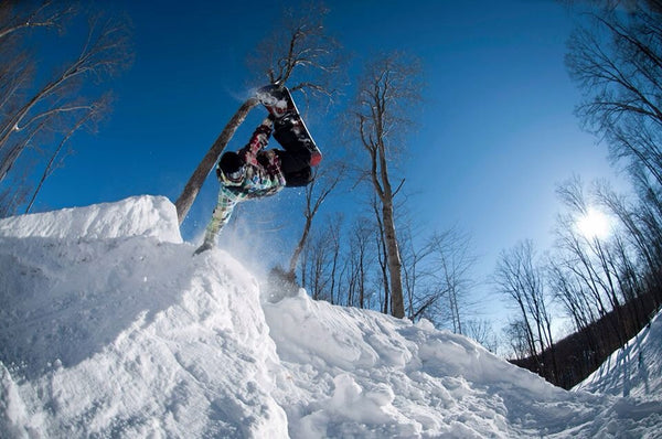 Snowboarding can help fight cancer
