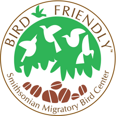 SMBC Bird friendly coffee certification