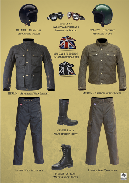 Heritage Style Motorcycle Clothing