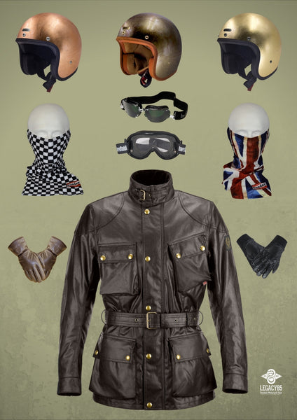 Distinguished Gentleman Motorcycle Clothing Style
